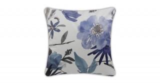 Terrain Printed Cushion Blue 40 cm