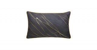 Shine Printed Cushion Grey 45 cm