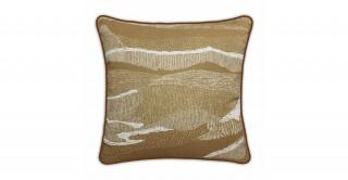 Honey Printed Cushion Gold 45 cm