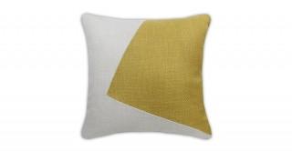Abhay Patchwork Cushion Gold 40 cm