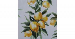 Lemons Handmade Oil Painting