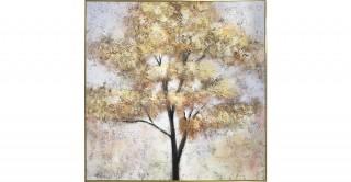 Tree Framed Oil Painting