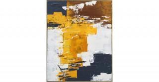 Brush Framed Oil Painting
