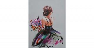 Mademoiselle Handmade Oil Painting