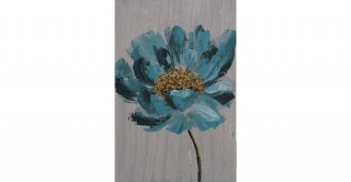 Daisy Handmade Oil Painting