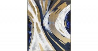 Marble Framed Oil Painting