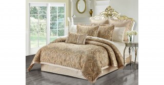 Nellie 260 x 270 Comforter Set - 5Pc