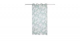 Swiss Voile Curtain Green 140 x 300 cm
