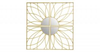 Farran Wall Mirror Iron 100 cm