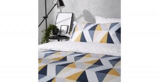 Milan 2PCs Cotton Pillowcase 50 x 75