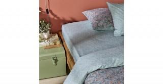Sally 1PCs Cotton Sheet 150 x 200