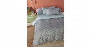 Sally 3PCs Cotton Comforter Set 240 x 260