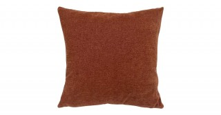 Solid Chinille Cushion Rust