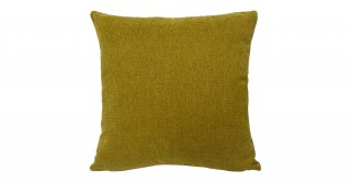 Solid Chinille Cushion Yellow