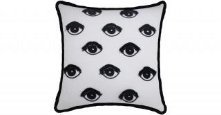 Eyes Embroideryidery Cushion 45 cm
