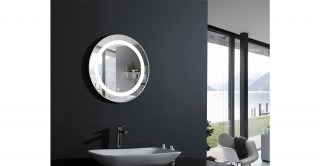 Deco Wall Mirror With Light