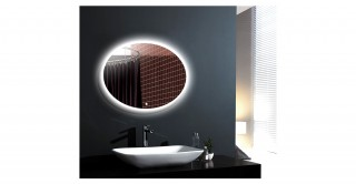 Bozz  Wall Mirror With Light