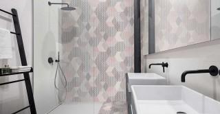 Peonia Rosa 23X27 Wall Tile