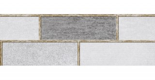 FACTORY Ceramic Glossy Grey 20x60 Wall Tiles