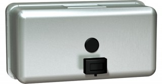 Asi  Wall Mounted Horizontal Liquid Soap Dispenser