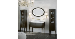 Elegance Side Cabinet With Mirror