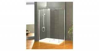 Walk In Shower Screen + Side Panel