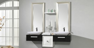 Prestige Cabinet With Basin,Mirror & Shelf