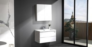 Sasha Cabinet With Basin & Mirror