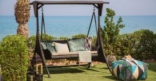 Camellia Swing Seat With Cushion