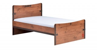 Cilek Black Pirate Kids Bed 206 x 125 cm