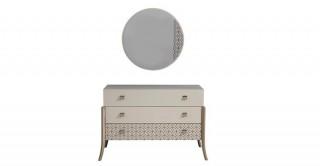 Duru Dresser With Mirror