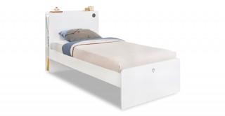 Cilek White Kids Bed 221 x 123 cm