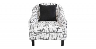 Wanoma 1 Seater Sofa - White
