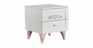New Ariena Beige Kids Bedside Cabinet