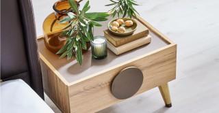 Antigo Bedside Cabinet