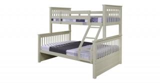Zinnia White Kids Bunk Bed
