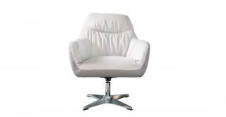 Alvino Grey Swivel Arm Chair
