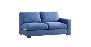 Miami 2 Seater Right Arm Sofa Dark Blue
