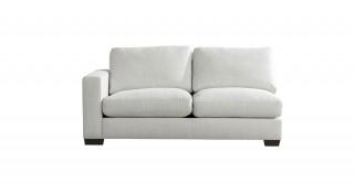 Miami 2 Seater L-Arm Sofa Off White