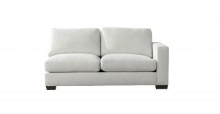 Miami 2 Seater R-Arm Sofa Off White