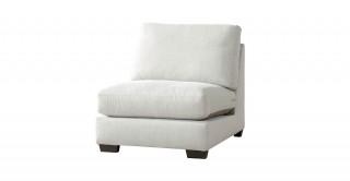 Miami 1 Seater Armless Sofa Off White