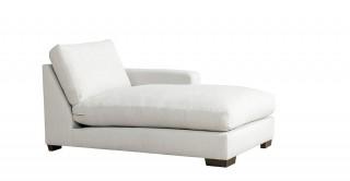 Miami Right Chaise Sofa Off White
