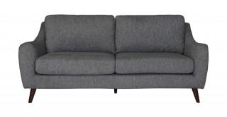 Sila 3 Seater  Grey Sofa