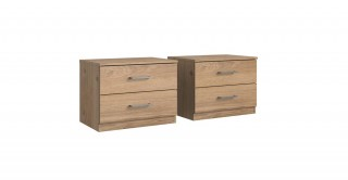 Anna Bedside Cabinet, 2 Pieces