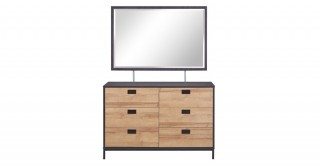 Isha Dresser With Mirror