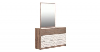 New Asymetric Dresser With Mirror