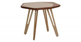 Dory Ceramic End Table
