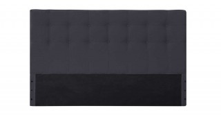 Tufted Headboard 160X200 Dark Grey