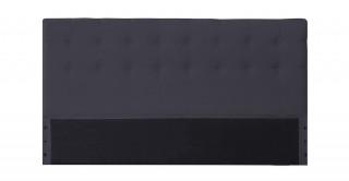 Tufted Headboard 180X200 Dark Grey