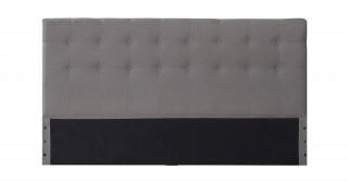 Tufted Headboard 180X200 Light Grey